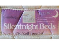 "***Double bed with two drawers ""SilentNight Beds"""