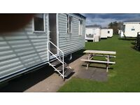 3 bed caravan for hire at Craig Tara