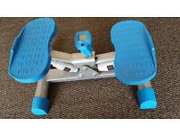 Blackwood. Compact stepper gym fitness equipment leg machine LCD display.