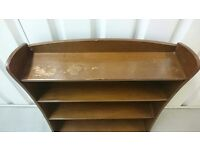 Vintage Bookcase Three Shelves Remploy
