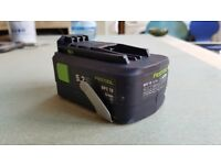 Festool BPC18 5.2ah battery -little use
