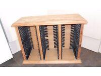 Wooden CD Storage Unit