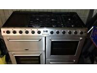 Belling 112 SSS Stainless Steel Range.