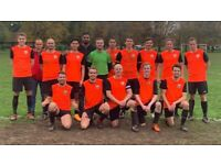 2 STRIKERS needed for football team in LONDON. 11 aside football team. REF: 88Ik2o2