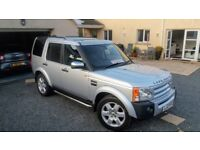 LAND ROVER DISCOVERY LTD EDITION (OF 300) METROPOLIS HSE AUTO LATE 06 LOW MILES TOP SPEC; PART X.