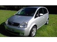 Vauhall Meriva Design 1.6 Great value immaculate condition 2004