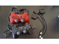 OFFICIAL PS2 DUALSHOCK 2 with USB adapter !!