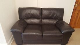 Leather Settee 2 seater