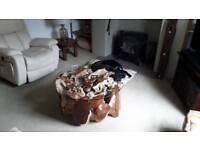 Beautiful wooden root coffee table