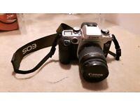 Canon eos 50e slr with lense