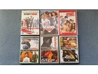 DVDs, Oceans 12, Old School, American Pie, Bruce Almighty+Others,Contact me soon as,Cheap all for £6