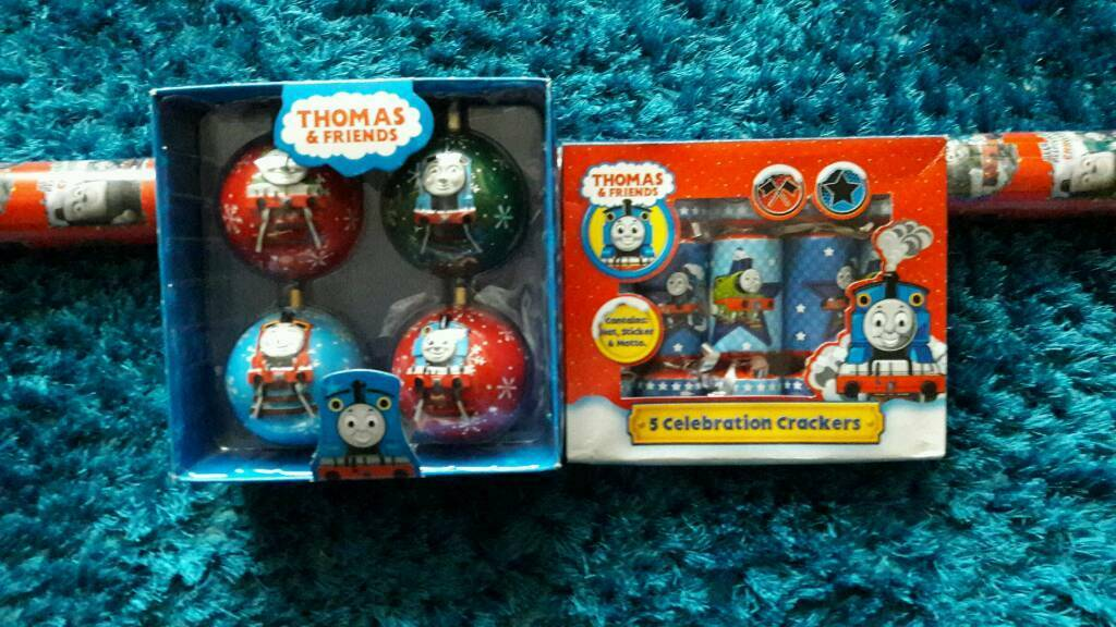 Thomas Tank Engine Christmas Decorations Why Santa Claus