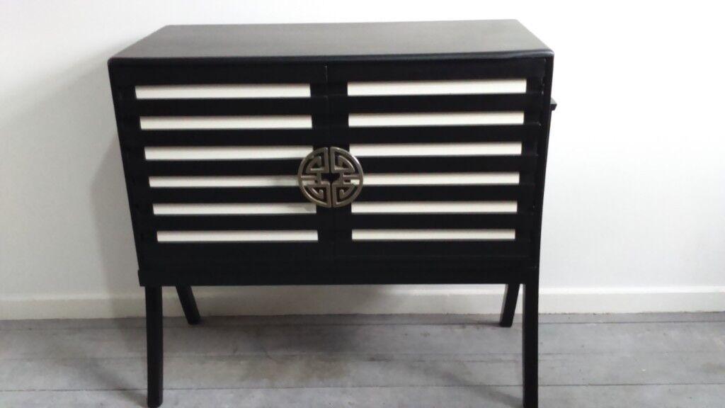 Vinyl Record Lp Storage Cabinet Box Holder Display Sideboard