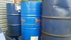 Steel oil drums 45 gallon