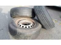 Fiat Scudo Peugeot Expert Citroen Dispatch wheels