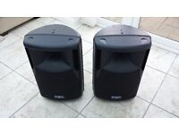FBT Max 40a Powered Speakers For Sale ... Impecable Condition ...