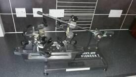 Pro's pro badminton tennis & squash stringing machine