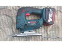 Bosch GST 18 V-LI B Professional Cordless Jigsaw 3.0ah