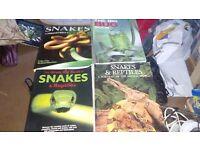 For sale reptile books
