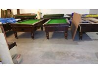 7x4 excel pool table very good condition