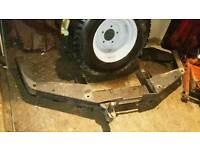 Land rover discovery hd winch bumper