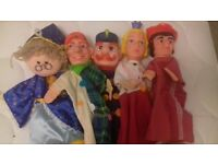 childs toy hand and finger puppets