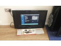 """Samsung 32"""" Full HD 1080p Freeview LCD TV £65"""