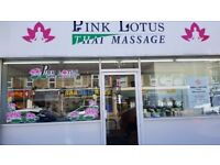 Pink Lotus Thai massage New Shop in Staple Hill
