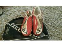 Football boots size 7.5