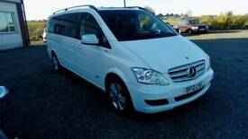 2012 Auto Mercedes Viano Cdi 2.2 Diesel 8 Seater Leather Trim can Be seen ANYTIME