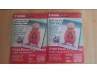 """Canon Photo Paper Plus Glossy 40 Sheets 4""""x 6"""""""