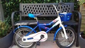 Kids bike 16 inch frame