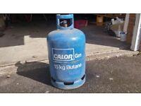 More then half full Calor gas bottle