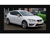 """4x Seat Leon FR mk3 17"""" 225/45 5 spoke alloy wheels & continental tyres in great used condition"""