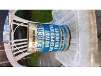 5kg tins of flexacryl roof sealant
