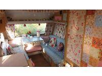 Vintage Styled Caravan 4Berth