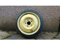 115/70/D 15*Spare wheel*Tubeless tyre