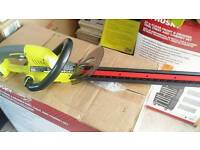 Ryobi one 18v hedge trimmer unsed