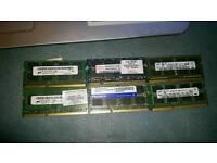 DDR2 DDR3 RAM CARD/CARDS 1GB 2GB 4GB