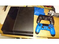 PS4 500GB 2 CONTROLLERS £210