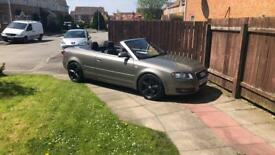 Audi A4 convertable may swap for an estate car