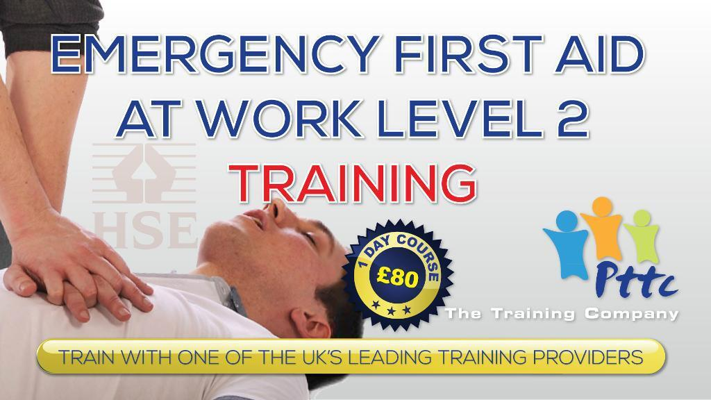 First aid course construction london