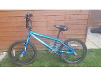 Apollo bmx bike blue