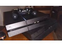 PS4 500gb with one controller for swap Xbox 1
