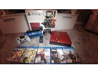 Playstation 4, Limited Edition Metal Gear Solid Phantom Pain Ps4. + Extras, See Description