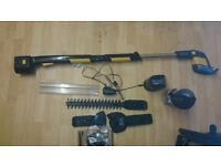 GTECH HT04 2-in-1 Cordless Hedge Trimmer & Branch Cutter with accessories