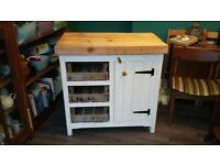 Rustic wood cabinet unit £200 or near offer