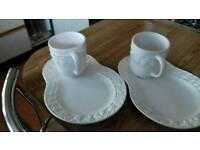 2 for tea - Mug and Sandwich plate m&s