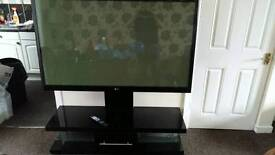 60 inch plasma LG and stand as new condition