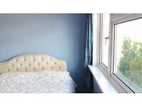 Double bedroom in a bright and spacious house